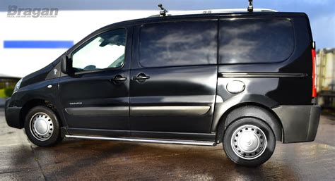 2007 2016 fiat scudo swb stainless steel side chrome