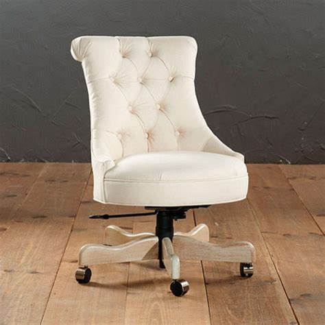 tufted desk chair traditional office chairs by