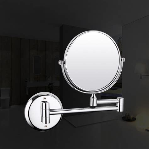Adjustable Mirrors Bathroom by Frap F6106 And F6108 Wall Mounted Chrome Finished Bathroom