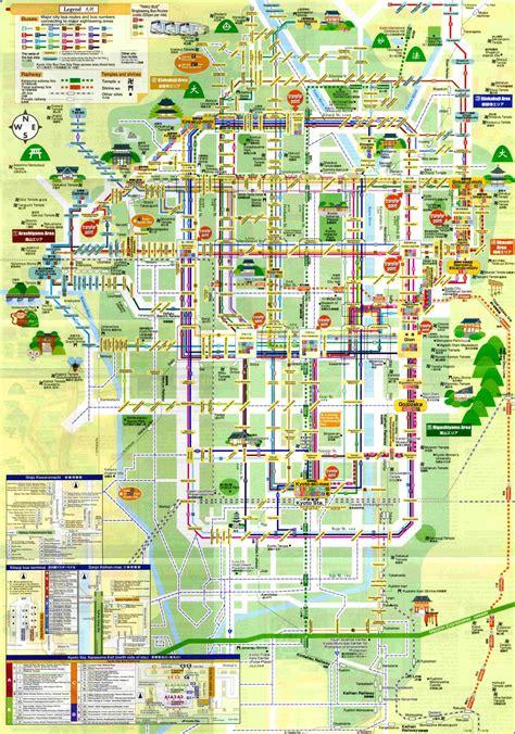 kyoto maps youinjapannet japan