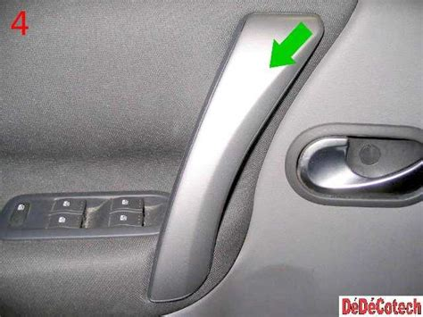 habillage siege auto cuir changement lève vitre électrique avant renault scénic ii