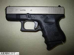 ARMSLIST - For Sale: Glock 27 Exo - Original Factory Exo ...