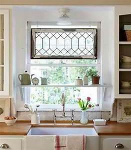 Window Treatments for Kitchen Windows Over Sink - Decor