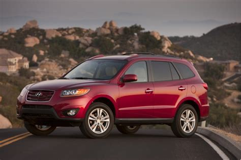 Hyundai Santa Fe Recalls by Hyundai Recalls 2011 Santa Fe For Brake Issue