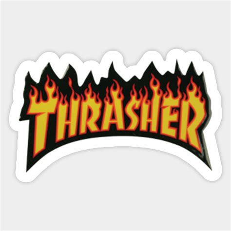 Thrasher Skate  Tumblr  Sticker  Teepublic. Malignant Signs. Accordion Murals. Girl Nursery Murals. Hydra Logo. Gopal Logo. Simba Murals. Wego Stickers. South Park Signs Of Stroke