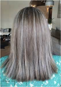 Transitioning to Gray Hair with Highlights