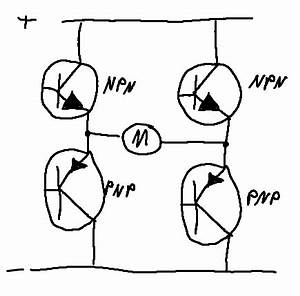 H Brücke Selber Bauen : h br cke transistor verschaltung elektronik elektrotechnik schaltung ~ Watch28wear.com Haus und Dekorationen