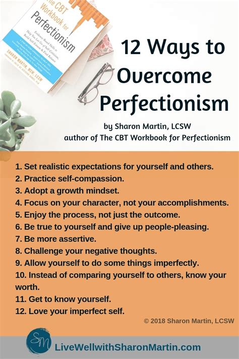 overcoming perfectionism sharon martin lcsw counseling