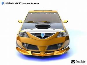 Dacia Logan At Custom Yellow