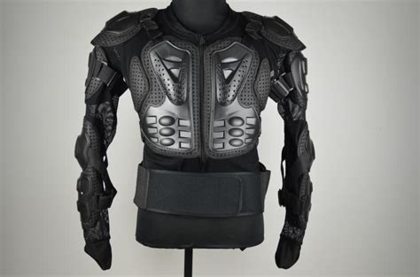 Motorcycle Full Body Armor Jacket Spine Chest Protective