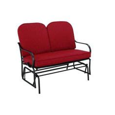 hton bay jackson patio loveseat glider home the o