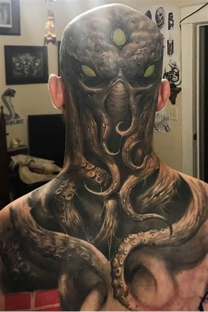 Herrera Brandon Freehand Cthulhu Healed Tattoo Tattoodo