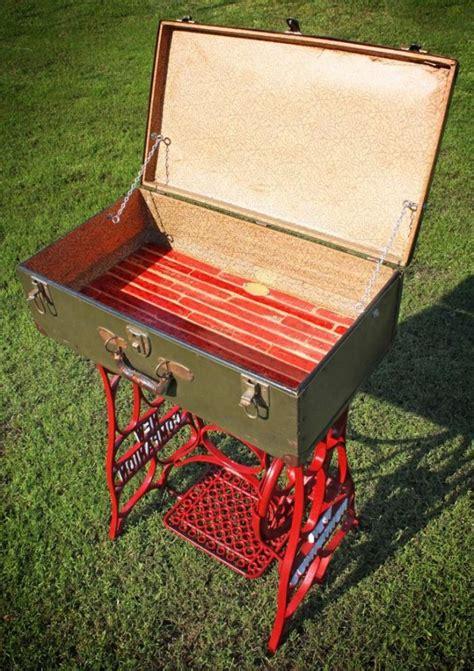 vintage repurposed sewing machines
