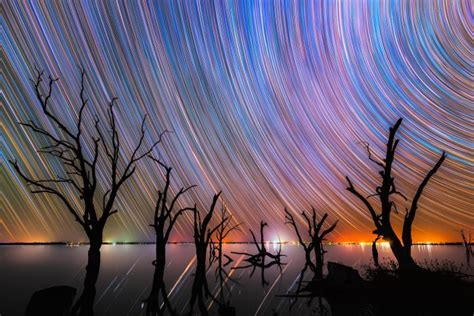 Stargazing How Photograph Star Trails Abc News
