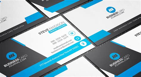Professional Name Card Template