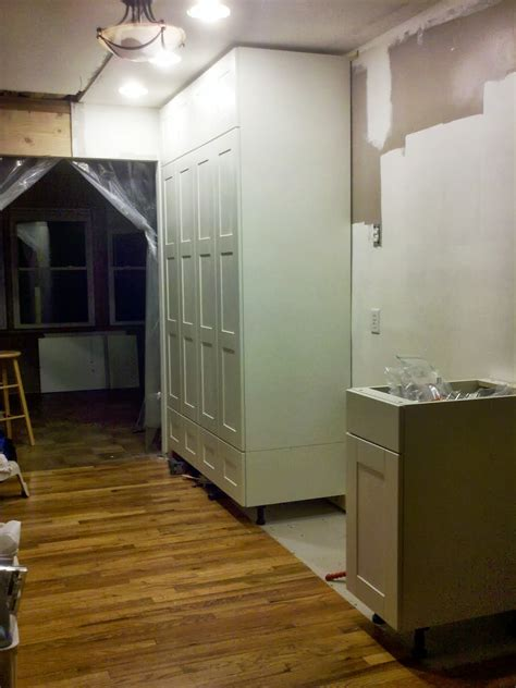kitchen cabinets tall ceilings how to extend tall akurum cabinet base unit for floor to