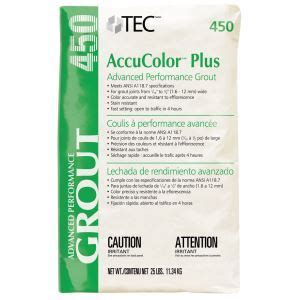 accucolor  grout tec sweets