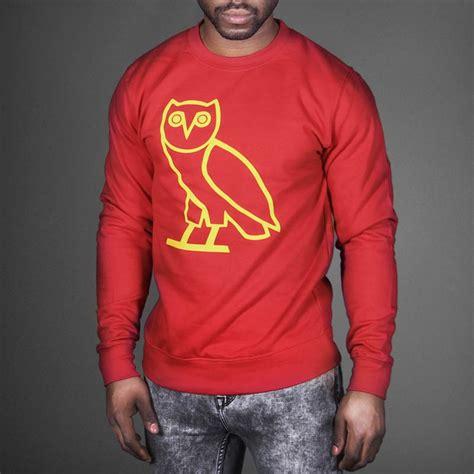 ovo sweater octobers own ovo owl sweatshirt wehustle menswear