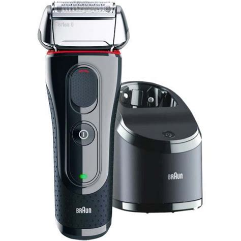 braun cc series clean charge mens electric shaver