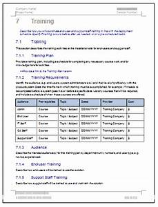 deployment plan template download 28 page ms word sample With software deployment document template