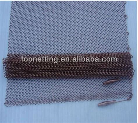 chain link mesh spark screen fireplace curtain mesh buy