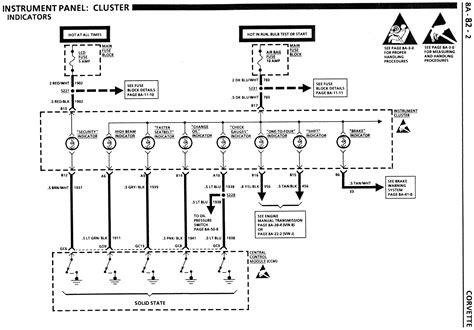 Batee Corvette Dash Cluster Instrument Gauge
