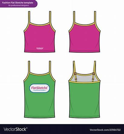 Tank Flat Drawing Technical Vector Template2