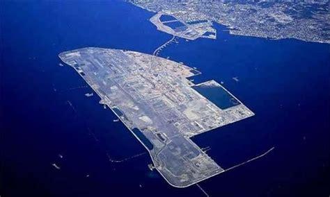 kansai international airport sinking rate nagoya japan s airport chubu centrair is built on an