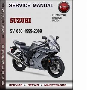 Suzuki Sv 650 1999-2009 Factory Service Repair Manual Download Pdf