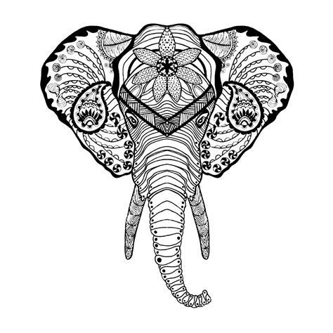 olifant kleurplaten voor volwassenen