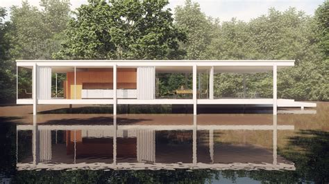Farnsworth House - a study of mies der rohe s farnsworth house archi toss