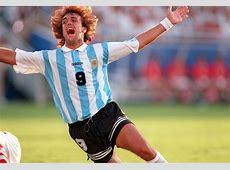 Snapshot Classic Gabriel Batitusta in action at the 1994