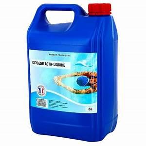 Traitement Piscine Oxygène Actif : traitement chimique pour piscine l 39 oxyg ne actif liquide ~ Dailycaller-alerts.com Idées de Décoration