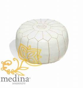 Beautiful pouf design images amazing house design for Pouf cuir blanc cuir center