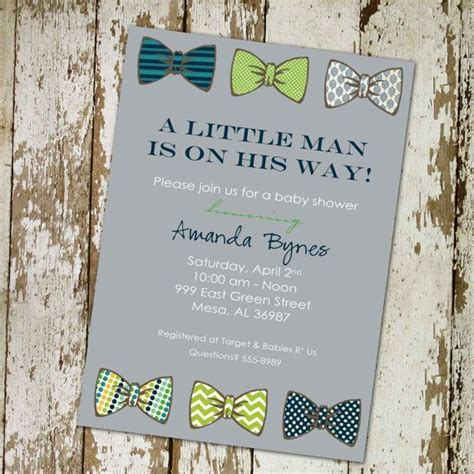 bow tie baby shower theme bow tie baby shower invitation gentleman baby boy
