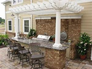 outdoor kitchen and bar the interior design inspiration With outdoor kitchen and bar designs