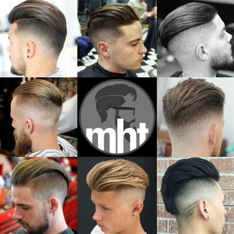 Slicked Back Undercut Hairstyle 2018   Men's Hairstyles