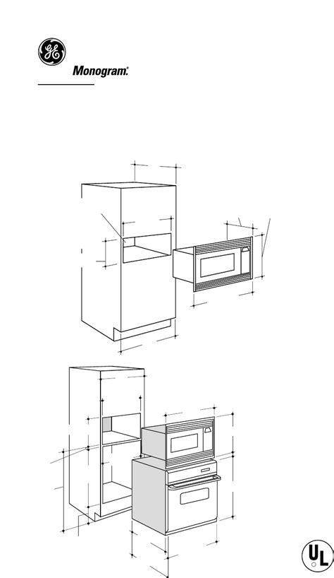 ge monogram microwave oven zemsf user guide manualsonlinecom