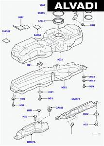 Land Rover Discovery 4 Parts Diagram