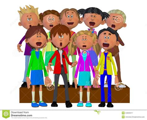 Image result for school choir clipart