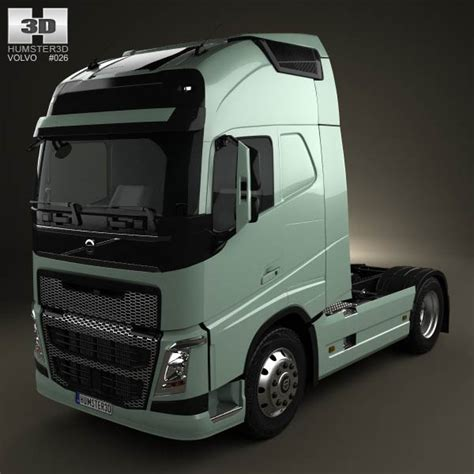 volvo truck price in volvo fh tractor truck 2012 3d model humster3d