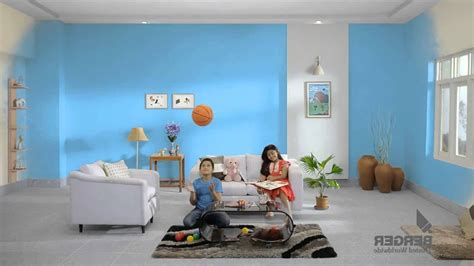 berger paints wall designs for drawing room
