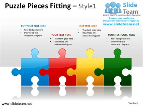 Powerpoint Template Puzzle Pieces Free