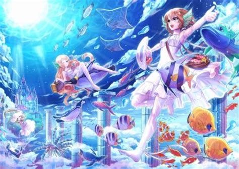images  anime underwater  pinterest