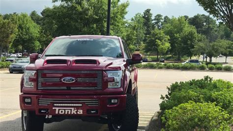 Red Tonka Truck 2016  2017 Ford F 150 Spotted   YouTube