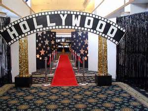 Hollywood Theme Party Props