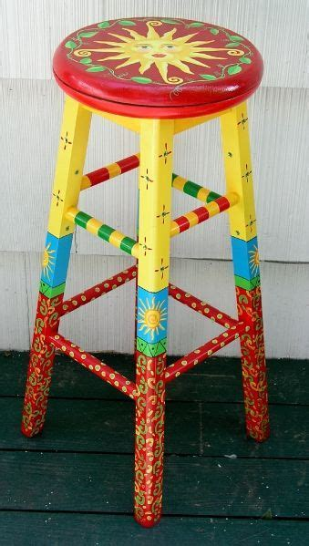 hand painted chairs, stools, benches, seating   furniture