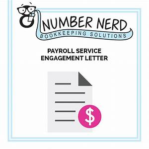 Downloads archive number nerd bookkeeping solutions for Payroll services engagement letter
