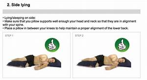 whats the best sleeping position what39s the best With best way to lay with lower back pain
