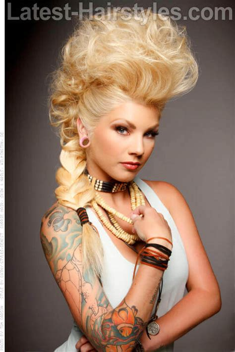 Mohawk Updo Hairstyles by 37 Different Hairstyles To Try In 2018